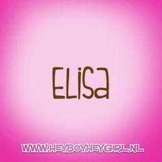 Elisa (Voor meer inspiratie, en unieke geboortekaartjes kijk op www.heyboyheygirl.nl)