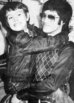 Bruce Lee and Brandon Lee.  :(((