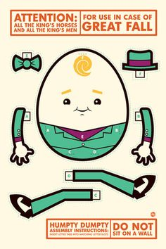 """Dave Perillo """"In Case Of Great Fall"""" inspired by Humpty Dumpty"""