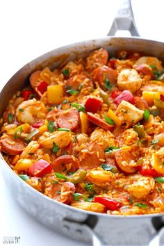 Gimme Some Oven Jambalaya Recipe | Gimme Some Oven