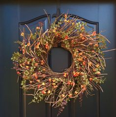 Fall Wreath Wreaths WreathFall Wreath for Front Door Fall
