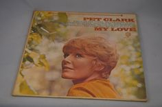 Vintage Record Petula Clark: My Love Album by FloridaFinders
