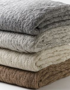 Mila Organic Baby Alpaca Blanket. King-Queen size blanket that is soft as a feather $375.00
