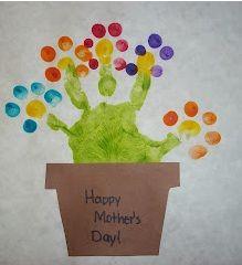 Handprint Flowers   Munchkins and Mayhem