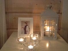 Kynttilöitä.