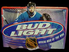 I failed Hockey Week while at the bar last night. I did not order a Bud Light, official beer of the NHL. Bud Light, Hockey, Fan, Field Hockey, Hand Fan, Fans, Ice Hockey
