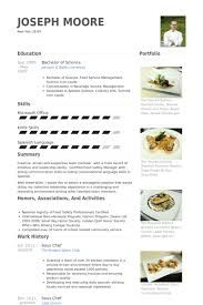 resume chef - Chef Resume Example