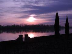 Coucher de soleil 01 janvier 2015 St Gemmes / Loire