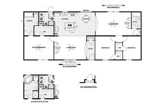 Clayton Homes | Home Floor Plan | Manufactured Homes, Modular Homes ...