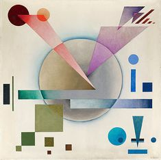 Rudolf Bauer @ Weinstein | Squarecylinder.com – Art Reviews | Art Museums | Art Gallery Listings Northern California