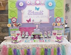 """Lego Friends / Birthday """"hearts Stars And Butterflies Lego inside Lego Friends Party Decorations Lego Friends Cake, Lego Friends Birthday, Lego Friends Party, Lego Themed Party, Lego Birthday Party, 6th Birthday Parties, 7th Birthday, Girls Lego Party, Kunst Party"""