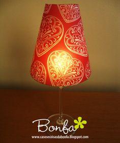Casos e Coisas da Bonfa: Tem presente hoje no blog: quem quiser pode baixar gratuitamente o molde da cúpula para montar uma luminária criativa com padronagem exclusiva do designer Wagner Campelo!