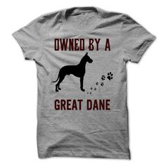 Owned by a #Great #Dane. $22 - To order this shirt, please click link: https://www.sunfrog.com/Pets/Owned-by-a-Great-Dane.html?58321