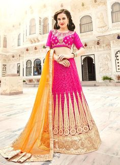 Check latest price in india and shop at india's favourite online shop. Order this net embroidered and patch border work lehenga choli. Customization.