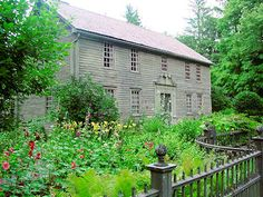 Mission House, Stockbridge, Mass. A lovely Colonial Revival garden