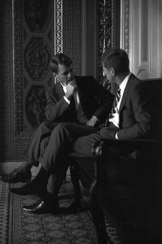 JFK and Bobby.