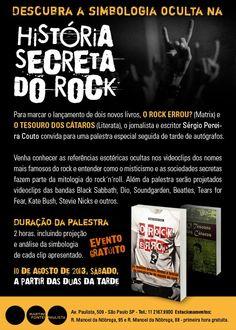 [Sorteio] PROMOÇÃO ESPECIAL  A HISTÓRIAS SECRETA DO ROCK