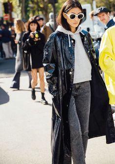 Look Street Style, Street Chic, Street Wear, Fashion Week, Paris Fashion, Style Fashion, Net Fashion, Fashion Trends, Raincoats For Women