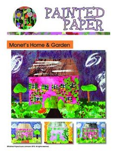 Art Project for Kids -Monet's Home and Garden