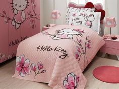 Hello Kitty Mangolia – Quilted Duvet Cover