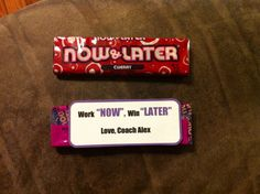 motivational Candy Gram Sayings | just b.CAUSE