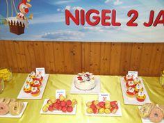 Jolie thema verjaardags dessert tafel #jokie #eftelig #verjaardag #desserttable www.jerseylicious.nl