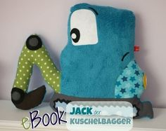 E-Books und mehr par LunaJu Fabric Toys, Sewing Pillows, Sewing Toys, Sewing For Kids, Softies, Little Boys, Kids Toys, Dinosaur Stuffed Animal, Stuffed Animals