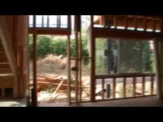 Shipping Container House - Framing 1 of 3 - YouTube