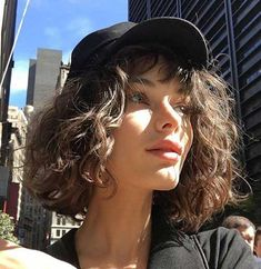 "- Lazy Hairstyles, "" Lazy Hairstyles, "" A. - Lazy Hairstyles, "" Source by ayseaslln. Short Curly Haircuts, Lazy Hairstyles, Curly Hair Cuts, Wavy Hair, Pretty Hairstyles, Short Hair Cuts, New Hair, Curly Hair Styles, Curly Short"
