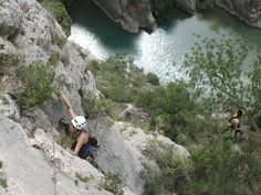 Escalada en el Congosto de Olvena. Via Frixis Niagara Falls, Nature, Travel, Bouldering, Naturaleza, Viajes, Destinations, Traveling, Trips