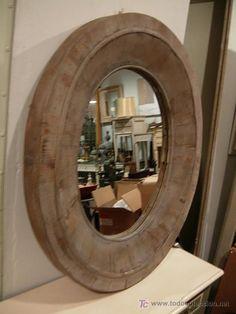 espejos rusticos madera - Buscar con Google