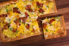 the chew, Kylah Gallagher's Breakfast Pizza Breakfast Pizza, Breakfast Dishes, Breakfast Time, Best Breakfast, Breakfast Recipes, Breakfast Ideas, The Chew Recipes, Brunch Recipes, Brunch Ideas