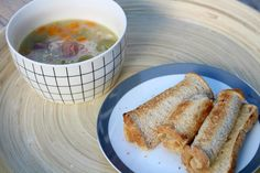Winter With Countdown- Nana's Bacon Hock Soup & Cheese Rolls by Hey Little Sweet Thing