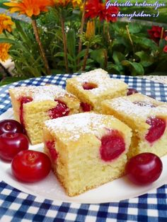 Look at this recipe - Forest Fruit Cake - and other tasty dishes on Food Network. Desserts To Make, Köstliche Desserts, Dessert Recipes, Food Cakes, Baking Recipes, Cookie Recipes, Raspberry Cheesecake Cookies, Cheesecake Bars, Delicious Fruit