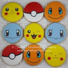 Sweet Handmade Cookies: Pokemon Go Cookies