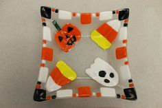 Halloween Fused Glass Bowls