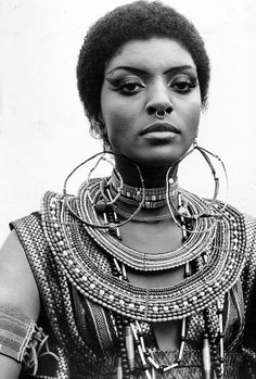 vintagegal:  Vonetta McGee in a promotional photo for Blacula (1972)