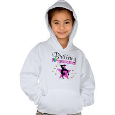 PRETTY PERSONALIZED I LOVE GYMNASTICS SWEATSHIRT Your Gymnast will dazzle and shine with our unique and one of a kind Gymnastics Tees and Gifts. http://www.zazzle.com/mysportsstar/gifts?cg=196751399353624165&rf=238246180177746410   #Gymnastics #Gymnast #WomensGymnastics #Gymnastgift #Lovegymnastics #PersonalizedGymnast