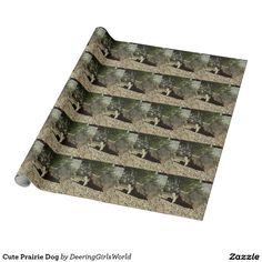 Cute Prairie Dog Wrapping Paper