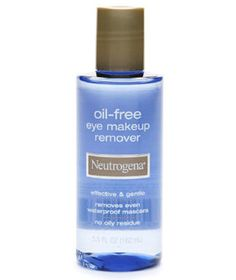 Neutrogena Oil-Free Eye Makeup Remover | The best beauty products in the aisles, handpicked by Ellen Marmur, a dermatological surgeon in New York City and an associate clinical professor in both the department of dermatology and the department of genetics and genomic research at Mount Sinai Medical Center.