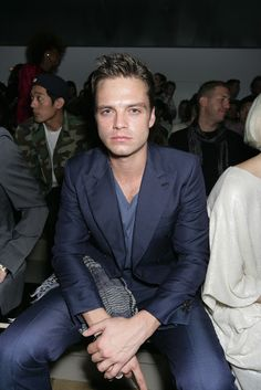 frowny Sebastian but still adorable