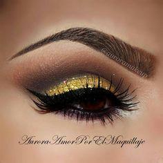 Dourado make-up