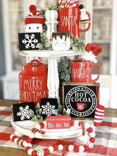 Christmas Hot Chocolate, Hot Chocolate Bars, Christmas Coffee, About Christmas, Christmas Stuff, Christmas Christmas, Gingerbread Christmas Decor, Dollar Tree Christmas, Farmhouse Christmas Decor