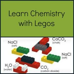 MIT has created three free science lesson plans using Lego building blocks. Each lesson takes about hours, and is suggested for ages 11 and up. The LEGO Chemical Reactions lesson introduces st… Chemistry For Kids, Chemistry Classroom, Chemistry Lessons, Teaching Chemistry, Science Chemistry, Physical Science, Science Lessons, Science Education, Science Activities
