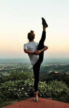 Someday I will be able to do this yoga pose...Bird of Paradise