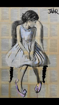 View LOUI JOVER's Artwork on Saatchi Art. Find art for sale at great prices from artists including Paintings, Photography, Sculpture, and Prints by Top Emerging Artists like LOUI JOVER. Tulip Drawing, Painting & Drawing, Illustrations, Illustration Art, Newspaper Art, Newspaper Painting, Art Graphique, Pics Art, Love Art