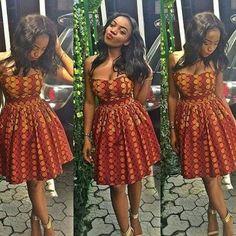 Ankara Styles by Mawuli African Prom Dresses, African Dresses For Women, African Attire, African Wear, African Fashion, African Style, African Clothes, Ankara Stil, Nigerian Girls