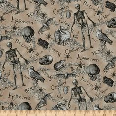 Designed for Blank Quilting, this cotton print fabric is perfect for quilting, apparel and home decor accents. Colors include taupe and shades of grey and white.