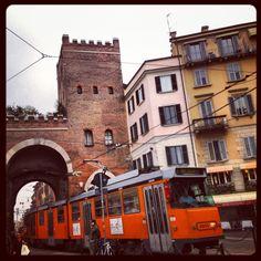 Milano, Porta Ticinese Ph Amanda Ronzoni (C) partitoperleferie.wordpress.com #portaticinese #beautiful #milano #iphoneography #monument #historicalplace #instagood #tweegram #iphoneonly #statigram #instadaily #instagramers #followme #milan #italy #follow #instagramhub #iphonesia #webstagram