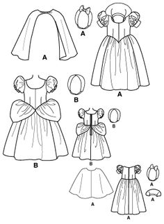 Disney dress pattern if I ever want a truly humbling sewing experience